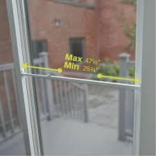 security bar sliding white lock glass