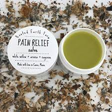 Organic Herbal Pain Relief Salve 4 oz for muscle ... - Amazon.com