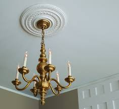 how to install a ceiling medallion this old house
