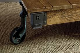 Mill Cart Coffee Table Giant Reclaimed Mill Cart Coffee Table By Indigo Furniture