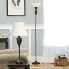 floor and table lamps sets medium size of portfolio 4 piece lamp set with brown shades floor and table lamps sets