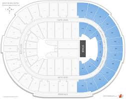 Smoothie King Seating Chart View Smoothie King Center Interactive Concert Seating Chart