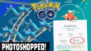 Magikarp Max Cp For All Levels Pokemon Go