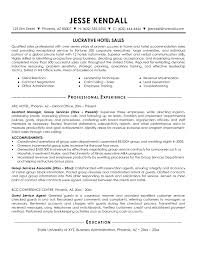 Sample Resume For Hotel Jobs Beautiful Hotel Sales Manager Resume Jk