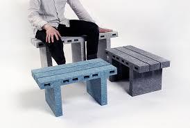 bricks furniture. woojai lee paperbricks recycled furniture designboom bricks r