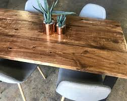 Image Etsy Reclaimed Wood Metal Dining Table Farmhouse Table Rustic Dining Table Custommadecom Reclaimed Wood Furniture Etsy