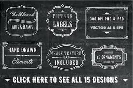 chalkboard frame and label overlays by design picture 94