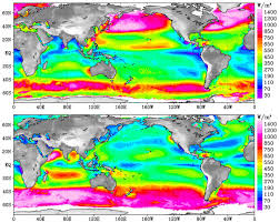nasa  ocean wind power maps reveal possible wind energy sources