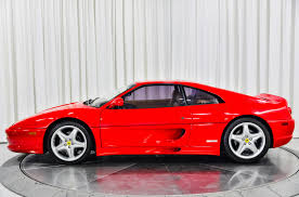 Serie fiorano last 104 cars, featuring an enhanced specification Used 1998 Ferrari F355 Gts For Sale Sold Marshall Goldman Motor Sales Stock B21823
