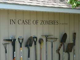 picture of storing garden tools with style aka zombiewall
