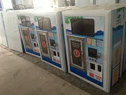 Window Water Vending Machine Enchanting Pure Water Vending Window With Coin Acceptor Ic Card With Lcd