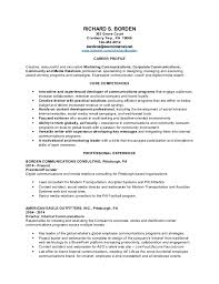 Corporate Communications Resume New Borden R Resume48uwinter