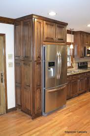 Black Walnut Kitchen Cabinets Custom Maple Cabinets Finished In A Walnut Stain And Then A Black