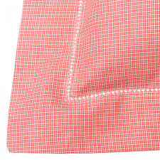 red check single duvet cover red and white check pillowcase