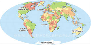 map of the world continents inside continent  besttabletforme
