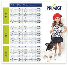 Imagini Pentru Primigi Size Chart Shoes Size Chart
