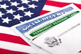 how green card holders can get social