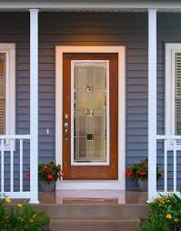 monterey decorative door glass insert available in nickel and patina caming