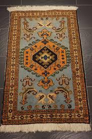 persian carpet sarab heriz made in iran old carpet 75 x 115 cm