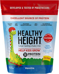 Gritty Growth Chart Flyers Healthy Height Kids Protein Powder Vanilla Developed By Schneiders Childrens Hospital To Help Children Grow Nutritional Shake W 12 Grams Of