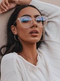 Quay Blue Light Sunglasses Quay Australia Blue Light Glasses Cryptic Clear One Size