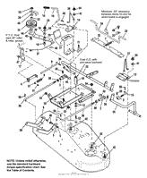 simplicity 1692412 512h 12 5hp hydro parts diagrams 36 quot mower deck clutch amp