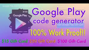 google play gift card codes no survey no