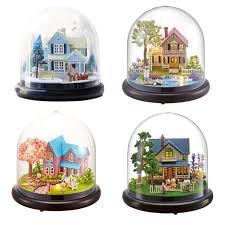 crystal house aliexpresscom buy 112 diy miniature doll house