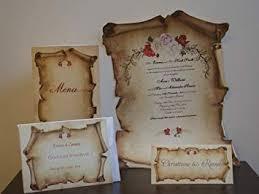 Amazon Com Scroll Wedding Invitations Set Of 25 Papyrus Wedding