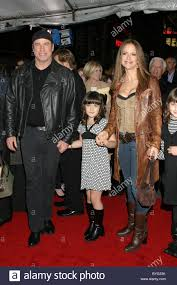 John Travolta, Kelly Preston and daughter Los Angeles premiere of Stock  Photo - Alamy
