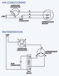 capacitor wiring diagram fan motor capacitor wiring diagram \u2022 free air conditioner wiring diagram pdf at Compressor Wiring Diagram