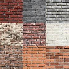 brick tiles old brick cladding white