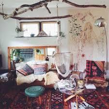 bohemian style living room. Modren Living Emily Katz House In Bohemian Style Hanging Branches From The Ceiling To Bohemian Style Living Room M