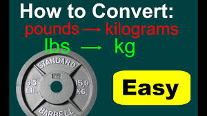 Lbs To Grams Conversion Chart Converting Lbs To Kg Lbs To Kg Conversion Conversions Of Pounds To Kilograms