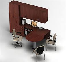 furniture configuration. Global Zira Series Executive Office Furniture Configuration 30
