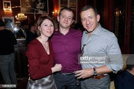 Actor of the piece Dany Boon with his brother Alexis Hamidou and ...