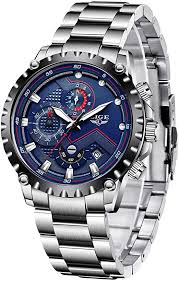 LIGE <b>Men Watches Fashion Sport</b> Analogue Quartz <b>Watch</b> ...