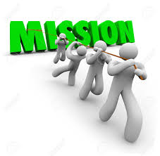 objective stock photos images royalty objective images and objective mission word pulled up by a team of workers striving together to achieve a