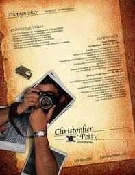 sample photography resumes 21 best photographers resumes images creative resume design