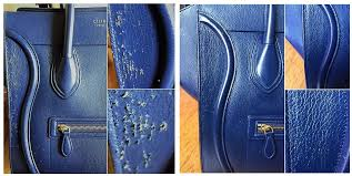 pictured above a customer s celine bag which met her cat s ovehusiastic rough playing package which includes repair work exterior cleaning and