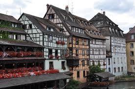 Квартал <b>Маленькая Франция</b> (Petite France) в Страсбурге ...