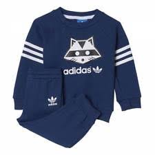 adidas outfits. adidas infant racoon full tracksuit baby kids children jogger set gift-set outfits