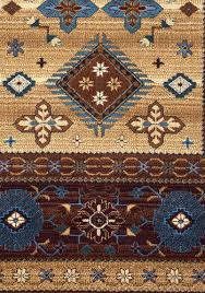 rizzy home bellevue brown area rug 6 7 x 9 6
