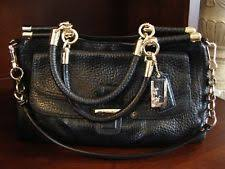 item 4 NWOT Coach Madison Pinnacle Black Pebbled Leather Satchel Bag Carrie  Handbag -NWOT Coach Madison Pinnacle Black Pebbled Leather Satchel Bag  Carrie ...