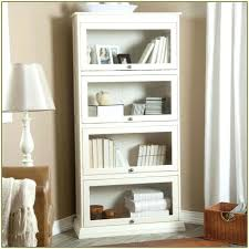glass door bookcases white bookcase for doors tall inside remodel 0