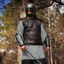 here is some real studded leather armour