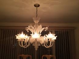 chandelier cleaning white glass chandelier cleaned glen cove long island