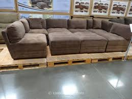 pit sectional couches. Delighful Couches Marks And Cohen Hayden 8Piece Modular Fabric Sectional Costco 7  Want For  Family Room Like A Pit Throughout Pit Couches L