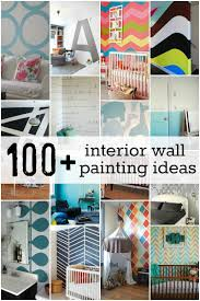 DIY - Amazing! #100+ Interior Wall Painting Ideas + Tutorials! at  Remodelaholic