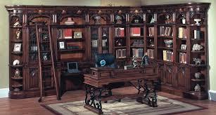 Cherry Corner Bookshelf Idea